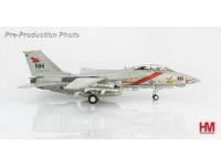 "HA5216 Grumman F-14A Tomcat 159608, VF-114 ""Aardvarks"", CVW-11, USS Abraham Lincoln, 1991"