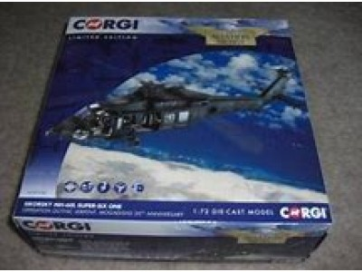 NEW Corgi AA35908A Sikorsky UH-60L 'Blackhawk Down' Super-Six One, Operation Gothic Serpent,Mogadishu 20th Anniversary